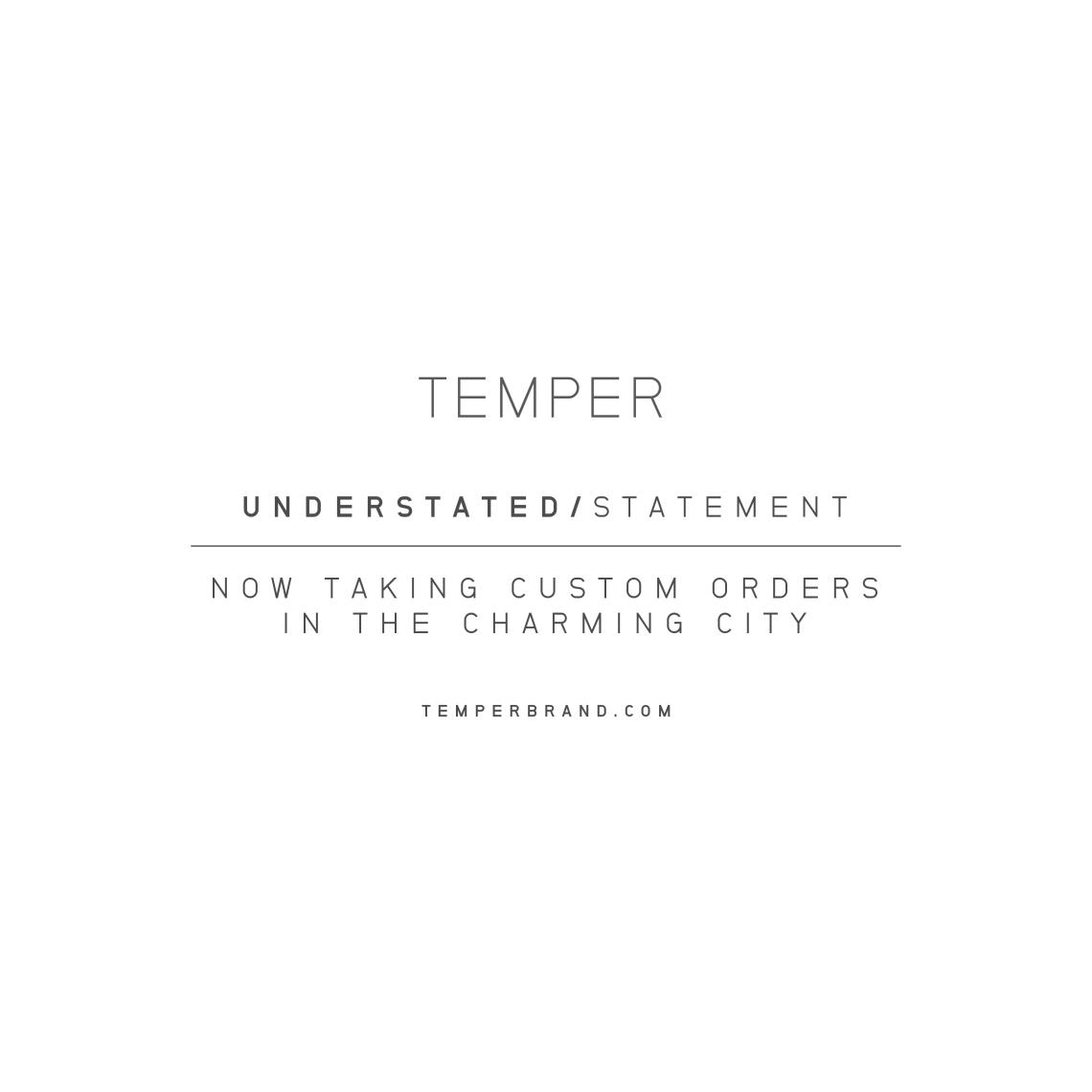 TEMPER PP
