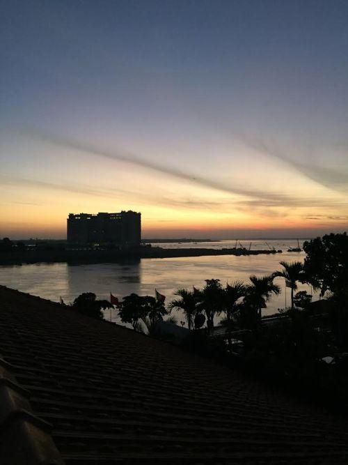 Rooftop sunrises in Phnom Penh